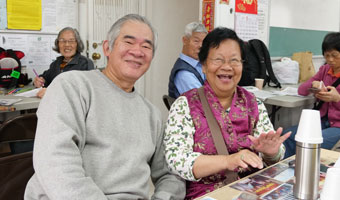 image of asian senior couple